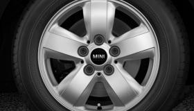"""15"""" Heli Spoke alloy wheels in silver"""