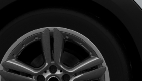 "18"" 5-Star Double Spoke Alloy Wheels in Matt Anthracite"