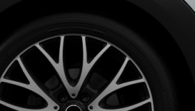 "19"" Cross Spoke Crusher Alloy Wheels in Black"