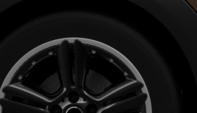 "18"" 5-Star Double Spoke Alloy Wheels in Black"