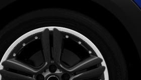 "18"" 5-Star Double Spoke Alloy Wheels in Matt Anthracite"