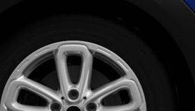 """17"""" 5-Star Triangle spoke alloy wheels"""