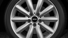 "17"" Cosmos Spoke alloy wheels in silver"