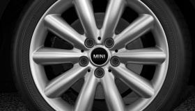 "17"" Lt/Aly wheels Cosmos Spoke silver"