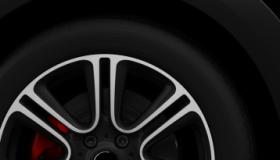 """18""""light alloy wheels Twin Spoke Black Burnished"""