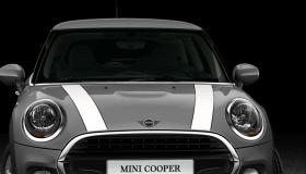 Bonnet stripes in white