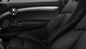 Leather Cross Punch Carbon Black/Carbon Black