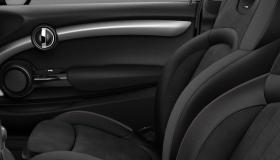 Dinamica/cuir Carbon Black