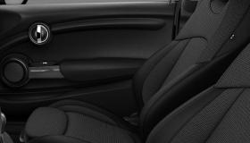 Cloth/leatherette Black Pearl Carbon Black/Carbon Black