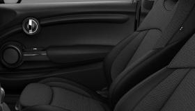 Tissu/Similicuir Black Pearl Carbon Black