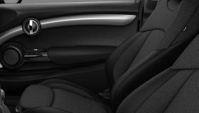 Cloth/leatherette combination Black Pearl Carbon Black/Carbon Black