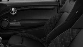 Cloth/leather Diamond Carbon Black/Carbon Black