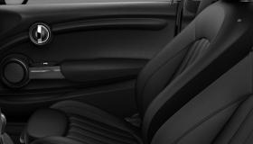 MINI Yours Leather Lounge Carbon Black/Carbon Black