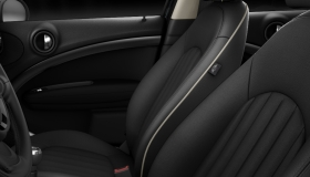 Leder Lounge Carbon Black