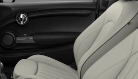 Leather Lounge Satellite Grey/Carbon Black
