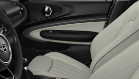 Leather Lounge Satellite Grey