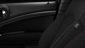 Interior surfaces Dark anthracite