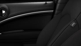 Interior surface Black Checkered