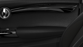 Interior Trim Piano Black