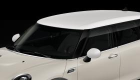 Dach und Spiegelkappen in weiß
