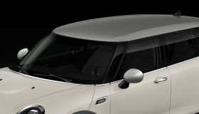 Dach und Spiegelkappen in silber