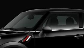 Dach und Spiegelkappen in schwarz
