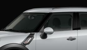 Tetto e specchietti in tinta vettura