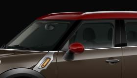 Dach und Spiegelkappen Oak Red