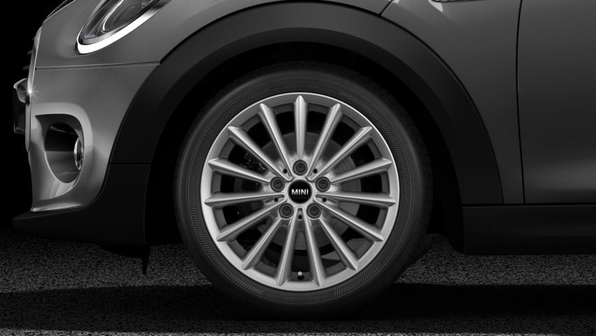 "MINI Cooper Hatch 5 Door 17"" multi-spoke light alloy wheels"