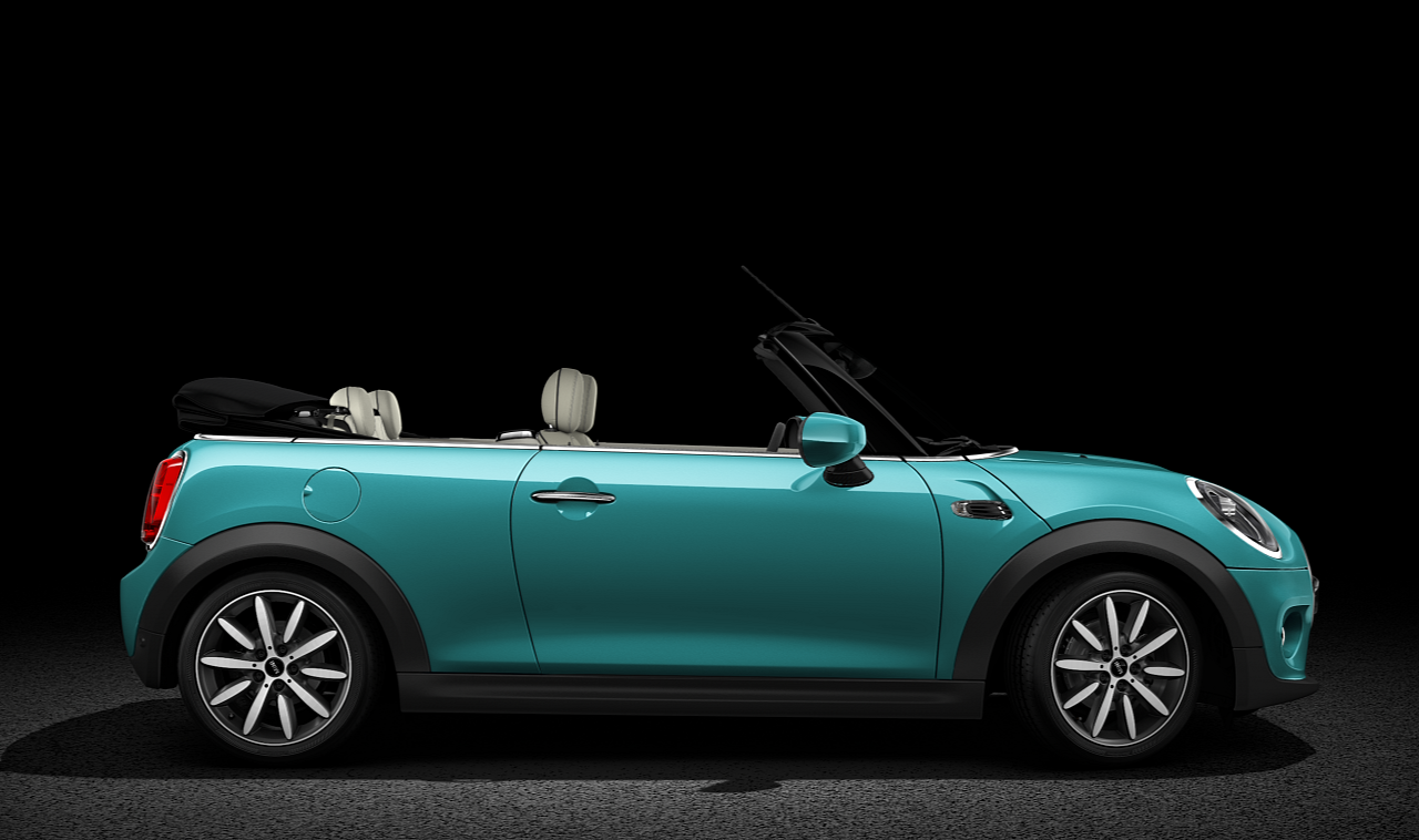 MINI Convertible side profile
