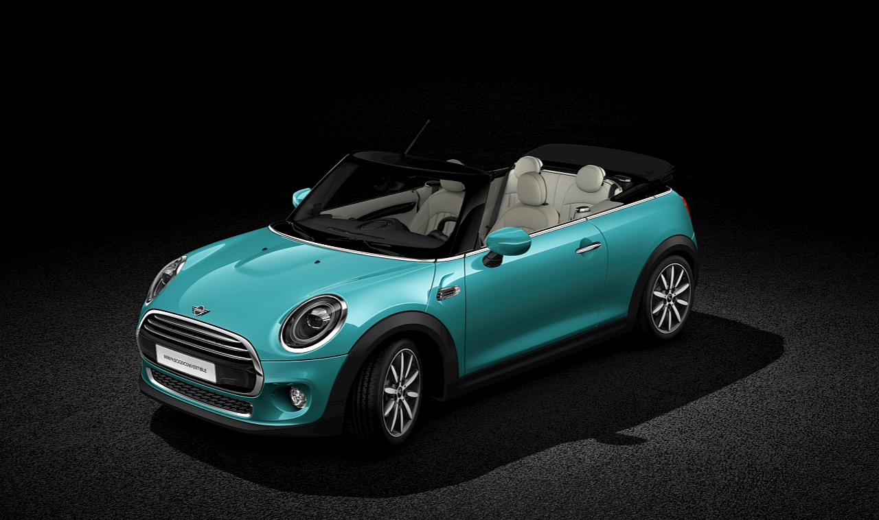 MINI Convertible front-diagonal profile
