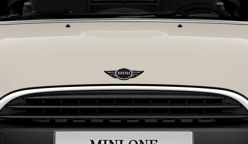 MINI One Convertible black grille