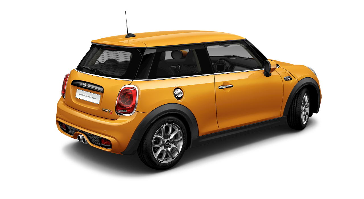 MINI 3 Door Hatch rear-diagonal profile