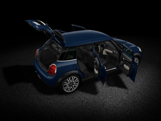 MINI Cooper D Hatch 5-Door open body full profile