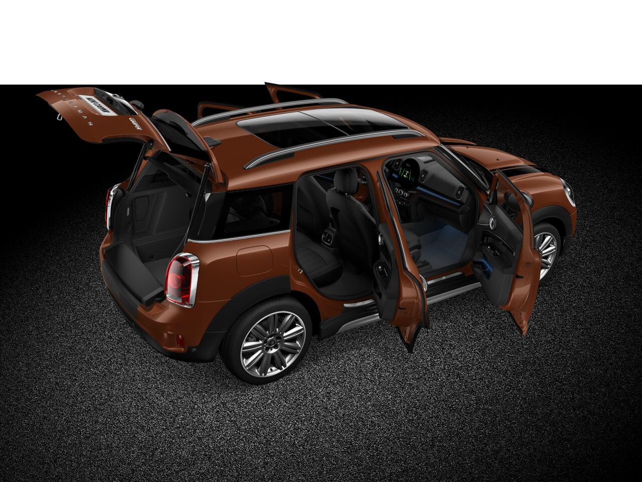 Perfil delantero-frontal carrocería completa del MINI Cooper Countryman ALL4