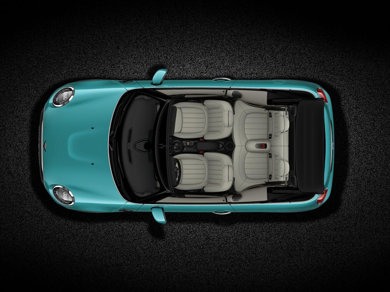 MINI Cooper Convertible top view