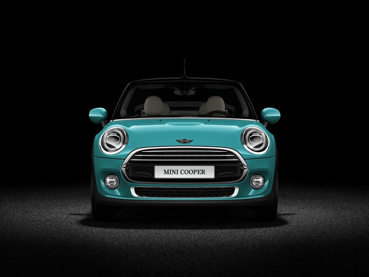 MINI Cooper Convertible front profile