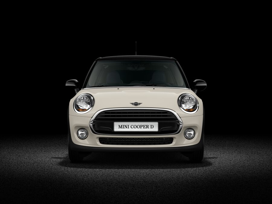 MINI Cooper D Hatch 5-Door front profile