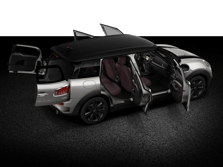 MINI Cooper S Clubman full open body profile