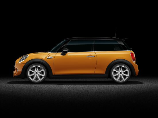 MINI Cooper S 3 Door Full Side profile.