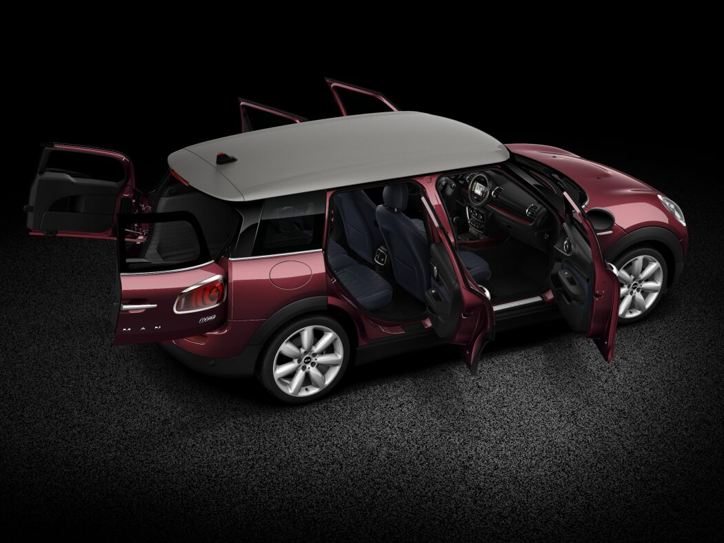 MINI Cooper Clubman full open body profile