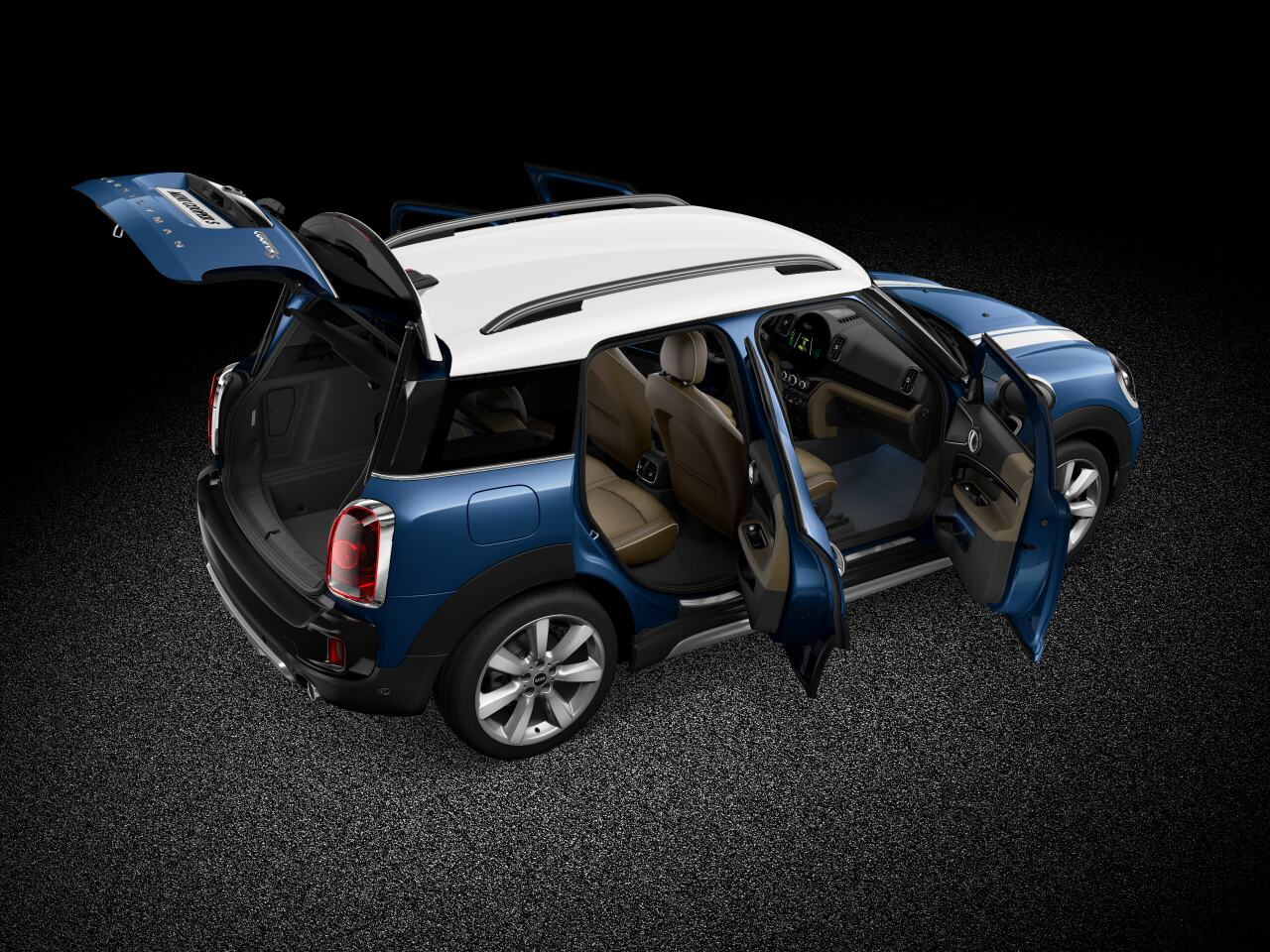 MINI Cooper S Countryman ALL4 front diagonal profile