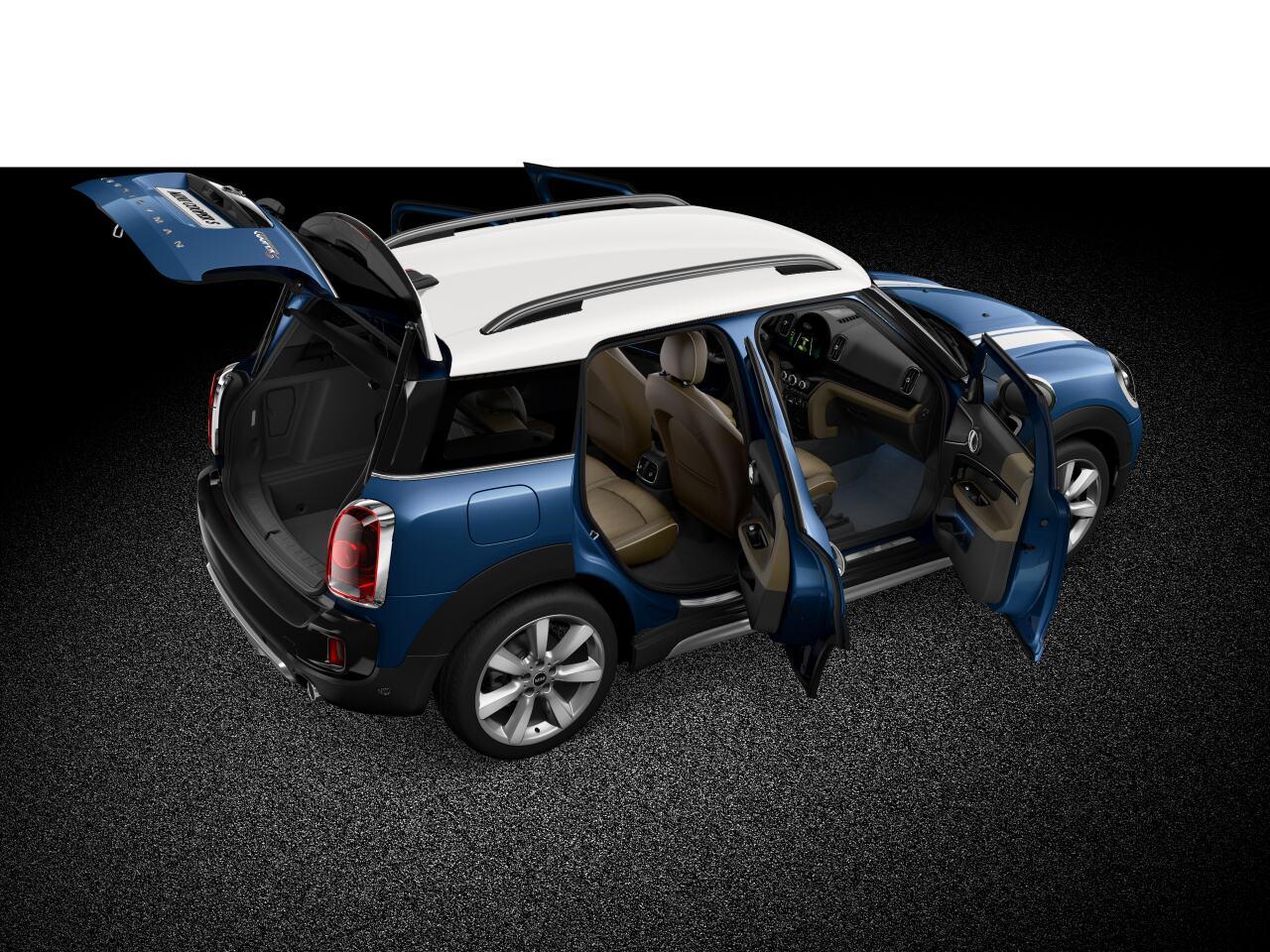 MINI Cooper S Countryman ALL4 front diagonal profile