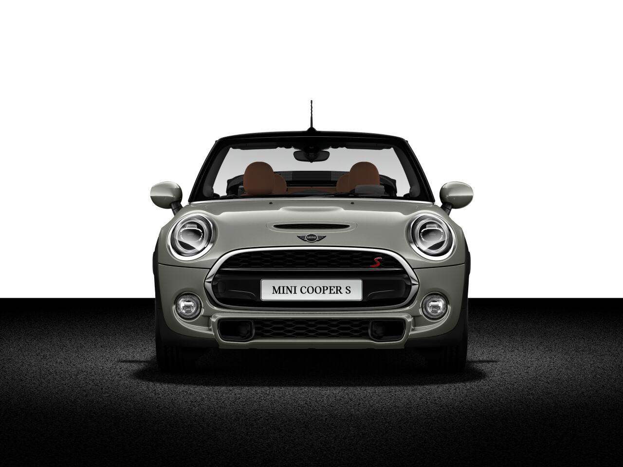 MINI Cooper S Convertible front profile