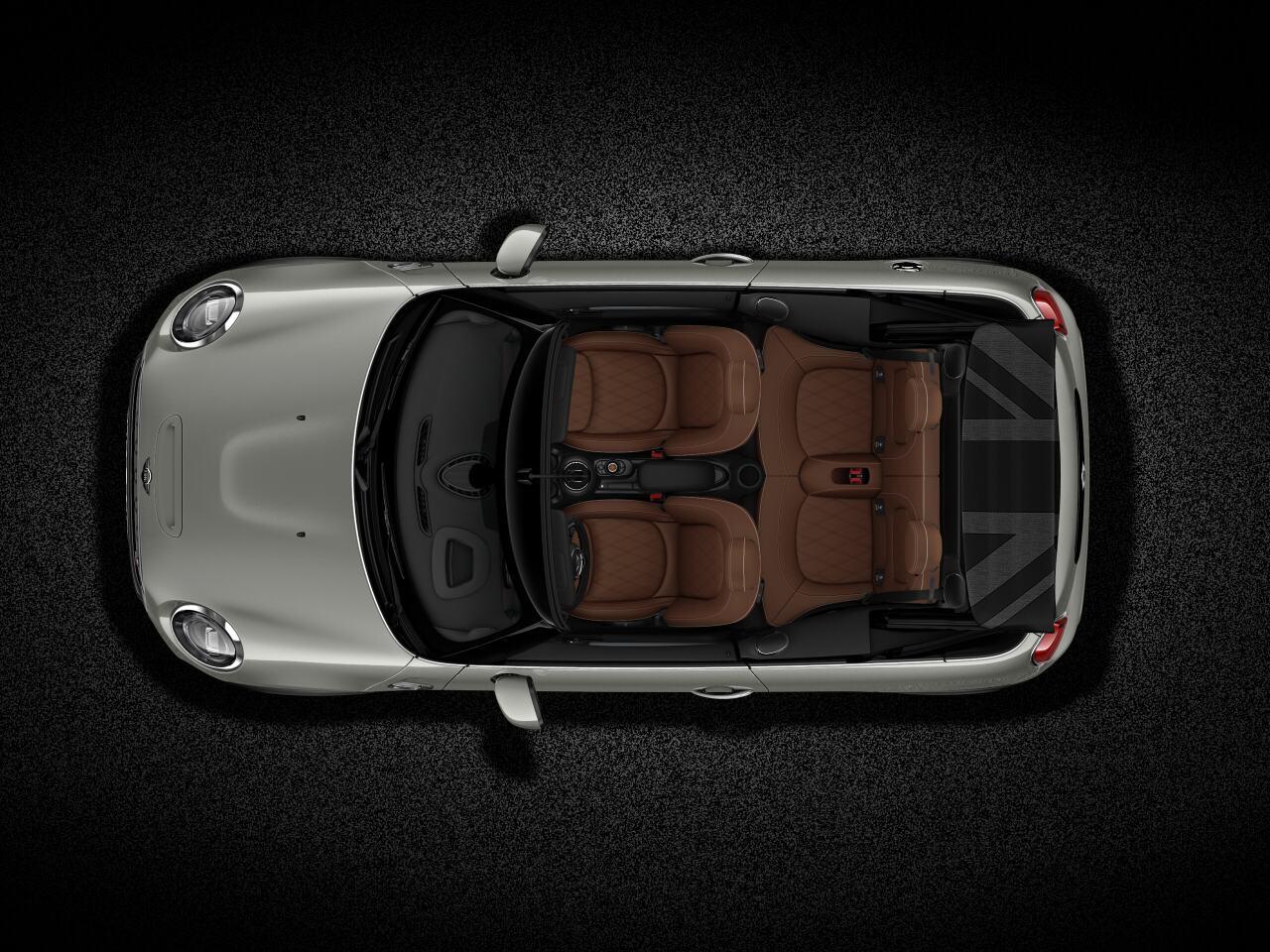 MINI Cooper S Convertible top view