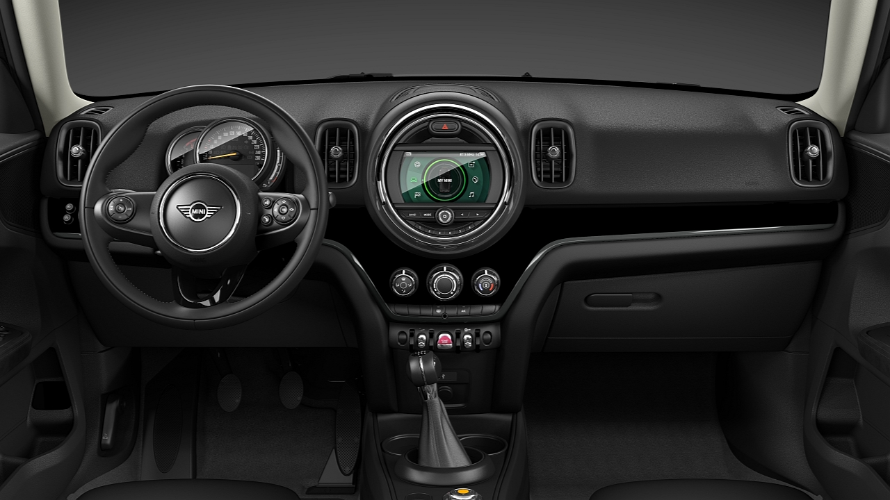 MINI Countryman – MINI Yours Piano Black verlicht interieur – DESIGN.