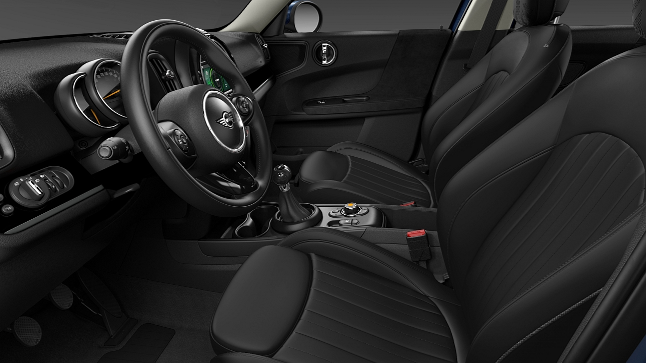 MINI Countryman – MINI Yours leder Lounge – DESIGN.