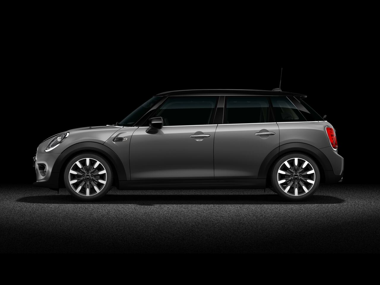 MINI Cooper Hatch 5 Door  side profile