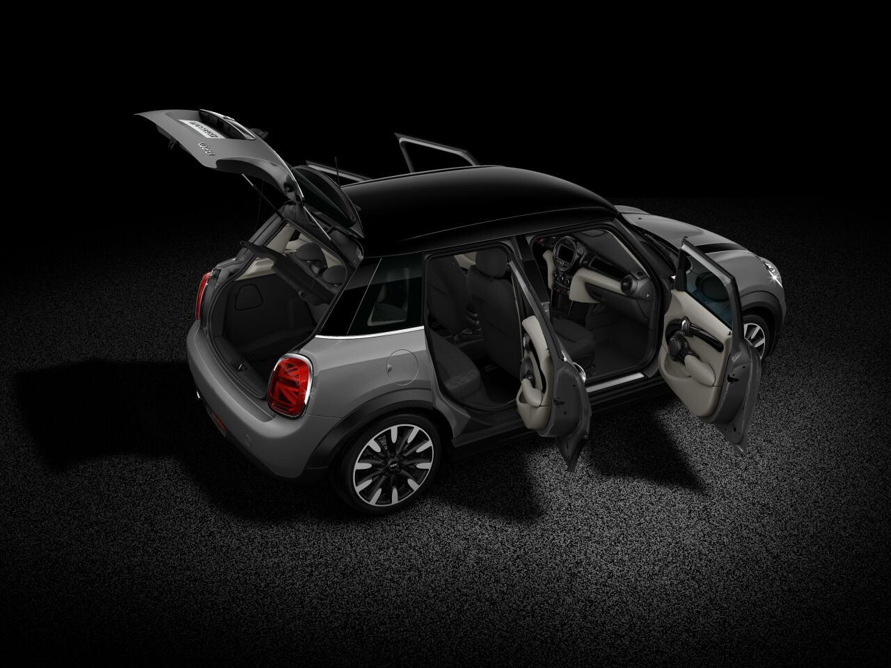 MINI Cooper Hatch 5 Door open body profile