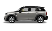 MINI COUNTRYMAN PLUG-IN HYBRID SIDE VIEW